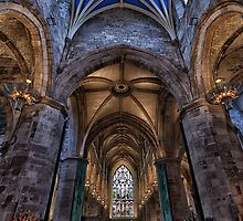 St Giles Cathedral Interior 4 by Miles Gray