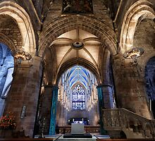 St Giles Cathedral Interior 5 by Miles Gray