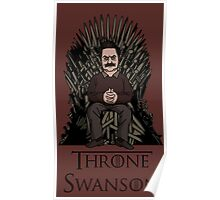 Throne Swanson Poster