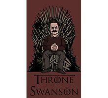 Throne Swanson Photographic Print