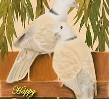 Grandparents Day Doves by jkartlife