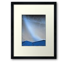 Coming Down to Earth   Framed Print