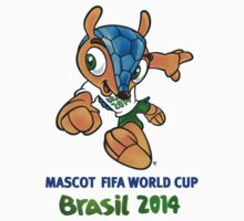 Mascot FIFA World Cup Brasil 2014 by V-Art