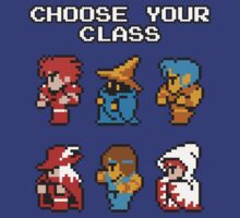 Choose Your Class by KaisCanvas