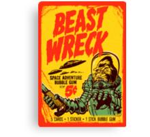 BEASTWRECK ATTACKS Canvas Print