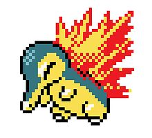 Pokemon - Cyndaquil Sprite by ffiorentini