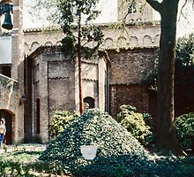 Dante's Tomb Ravenna Italy 198404140045 by Fred Mitchell