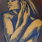 Emotional - Female Nude Portrait by CarmenT
