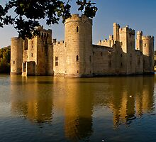 Bodiam Castle by philmilton