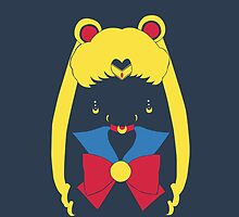 Sailor Moon Mask Head Pop iphone by EdWoody