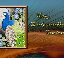 Grandparents Day Grandma Peacock by jkartlife