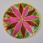 Gelli Print Flower 1 by ShellsintheBush