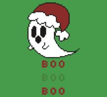 Boo Boo Boo - Christmas Ghost by Bundifox
