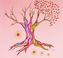 Growing Serenity Tree by Mary-Jeanne Smith