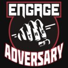 Engage the Adversary Band Logo by botarthedsgnr