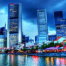 Singapore River , Urban Landscape by William  Teo Photography