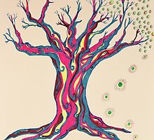 Standing Strong Serenity Tree by Mary-Jeanne Smith