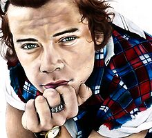 Harry Styles- One Direction Sketch by Tiffany Taimoorazy