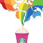 Starbucks Pop Art  by Tiffany Taimoorazy