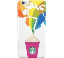 Starbucks Pop Art  iPhone Case/Skin