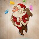 Santa Claus on ice by jordygraph