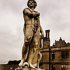 Statue at Kirby Hall by Jason Clarke