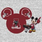 Mickey Mouse Alabama Crimson Tide fan by sweetsisters