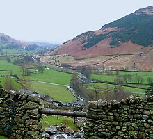 Langdale from Dungeon Ghyll by GeorgeOne