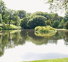 Lyme Park Reflections by GeorgeOne