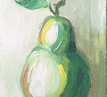 Still Life Pear by Sarah Niebank