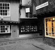 Little Shambles and a Glowing Window by Eliza Donovan