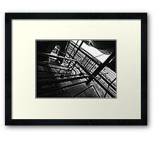 Catwalk Framed Print