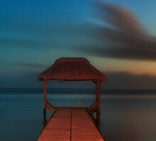 Dusk Indian Ocean by Mark Kenwood