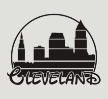 Cleveland T shirt by printproxy
