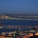 Bay Bridge, San Fransisco California by kellimays