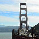 Golden Gate Bridge, Sausilito side by kellimays