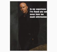 lex luther In my experience I've found you can never have too much information by comicbookguy