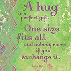 A Hug is a Perfect Gift by AngiandSilas
