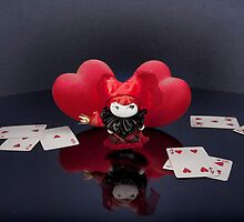 The Queen of Hearts and Mageritdoll... by Mageritdoll