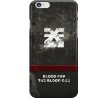 For the Blood God iPhone Case/Skin