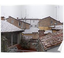 from the roofs of Parma I think .....Italy ... World- VETRINA RB EXPLORE 10 DICEMBRE 2013 Poster