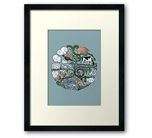 Born to Roam Framed Print