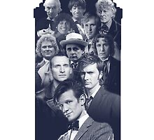 All of the Doctors in the TARDIS by SarahJane221B