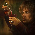 """If you drink enough fire wine perhaps you'll dream of dragons"" Tyrion by Meg Owenson"