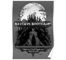Batcave Bootcamp (Gray) Poster