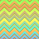 Summer Chevrons by Lyle Hatch