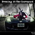 Evening In The Graveyard by Jamie Cameron