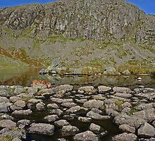 Pavey Ark and Stickle Tarn by Kat Simmons