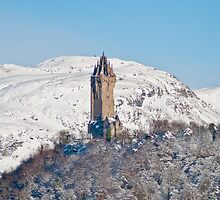 Wallace Monument! Ochil Hills in the background by jmd777