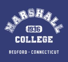 Marshall College 1936 (worn look) by KRDesign